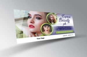 Beauty social media cover